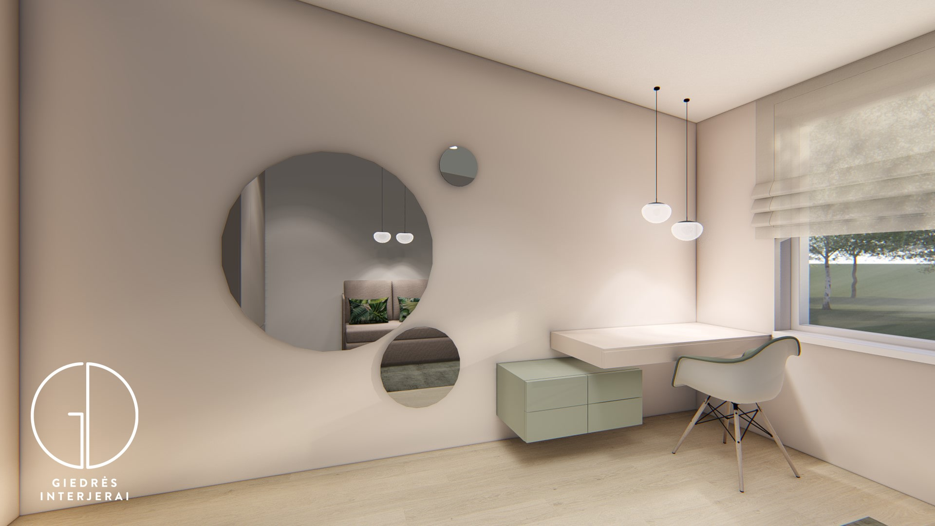 Girls room interior